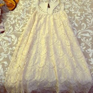 Gentle Fawn lace dress